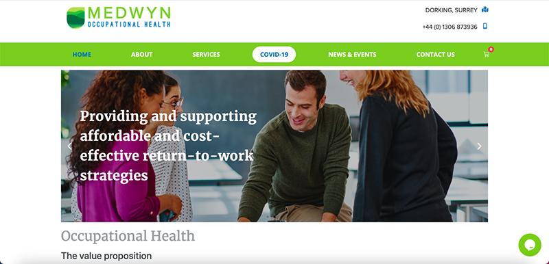 Medwyn OH Website Preview